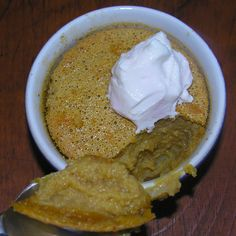 Maple, Meyer, and Muscovado Baked Pudding