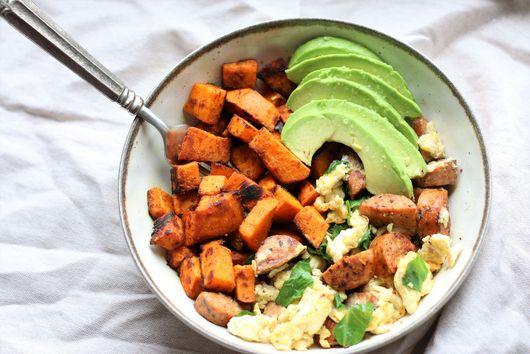 Sweet Potato Power Breakfast