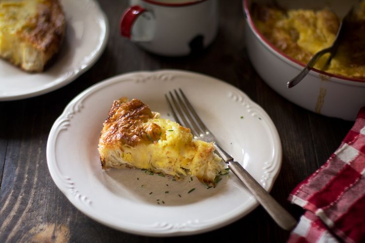 Simple Egg Pie