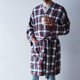 Jackson Handmade Tartan Flannel Robe