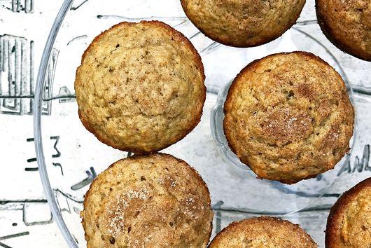 Apple Cinnamon Tea infused Muffins