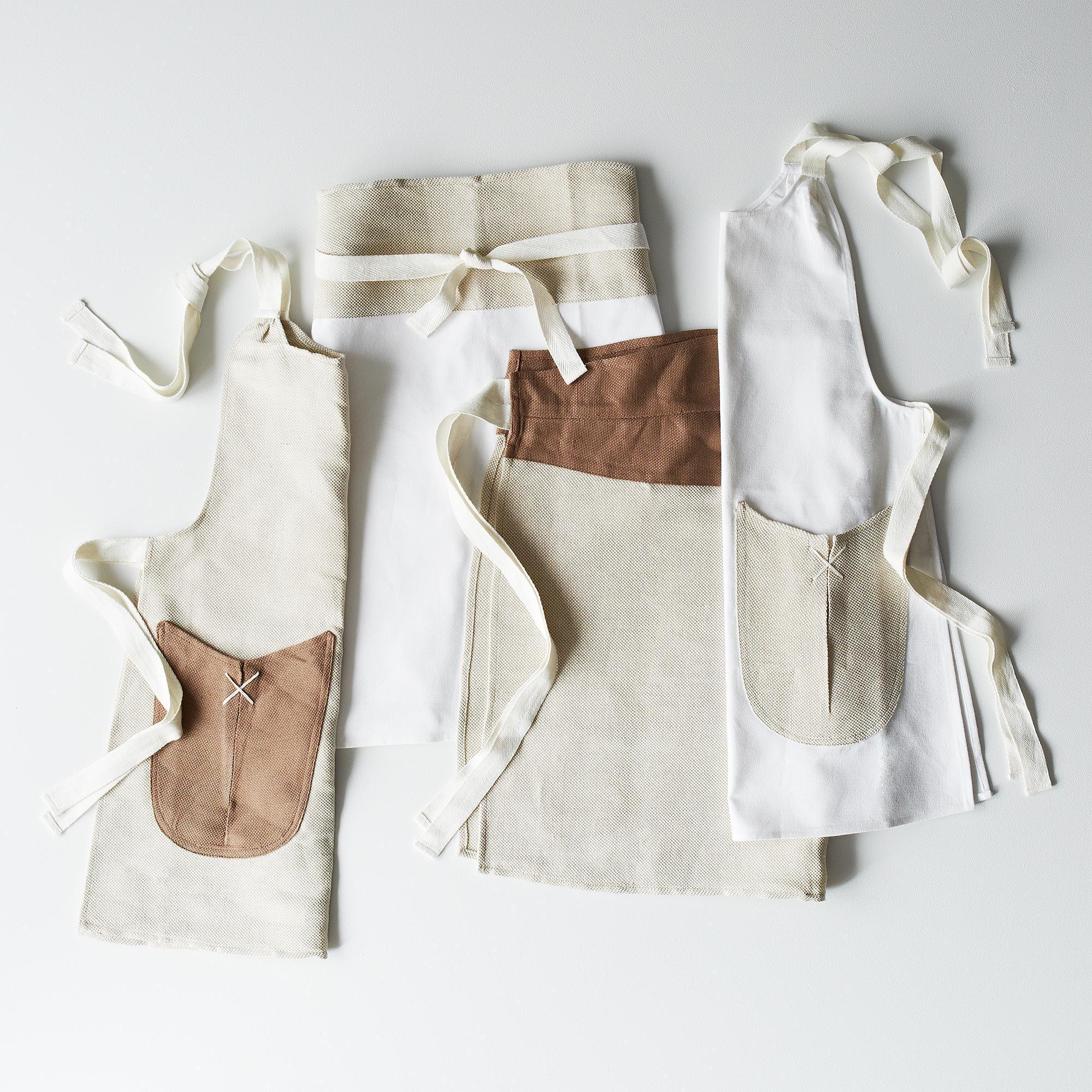 White half apron walmart - Heirloom Children Adult Aprons