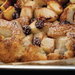 Pear and Dried Cherry Crostata