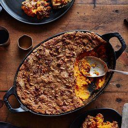 Edna Lewis & Scott Peacock's Sweet Potato Casserole