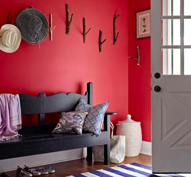 Decorating with Red: How to Use This Off-Limits Color in Your Home