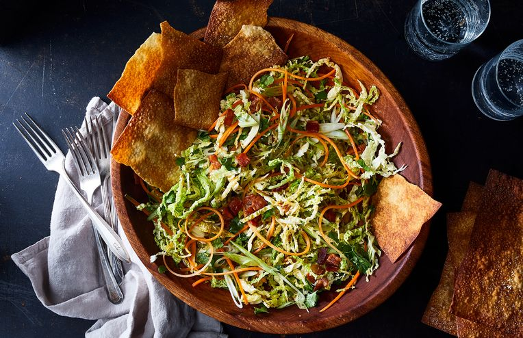 The Salad That's Basically an Egg Roll Inside Out