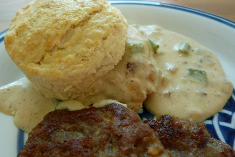 Green Chile Country Gravy