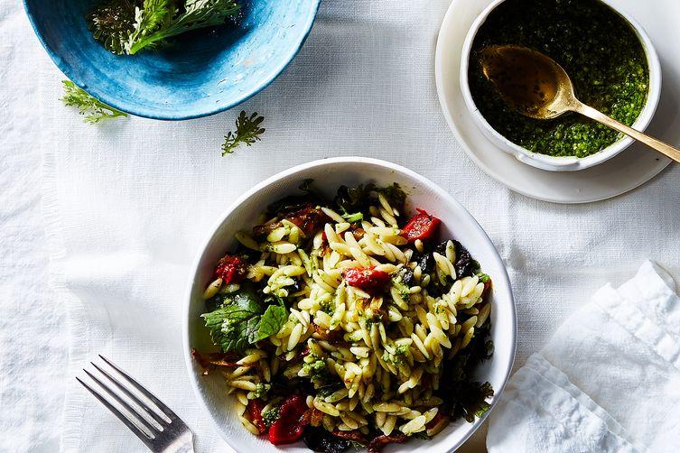 Antipasto Orzo Pasta Salad