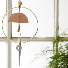 A DIY Indoor Wind Chime More Cheerful Than Sunshine