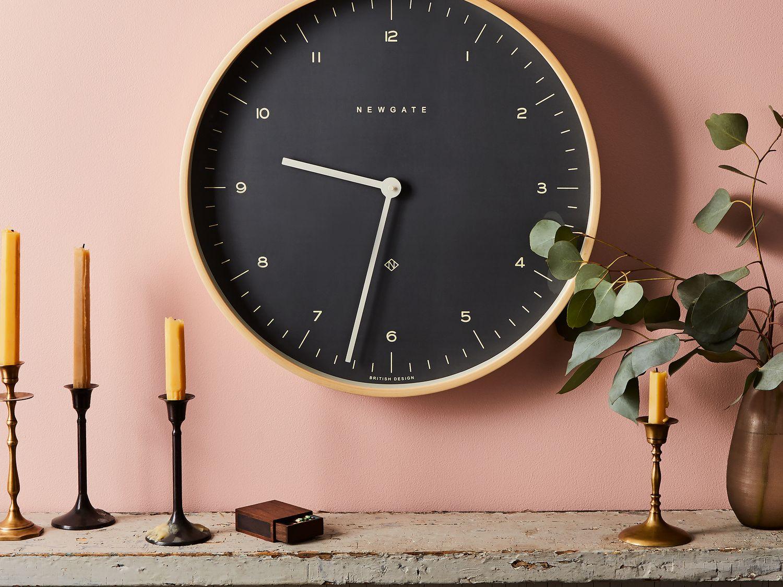 Mr. Clarke Large Modern Plywood Wall Clock on Food52