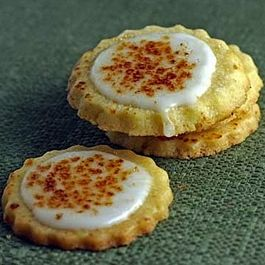 Bruleed Orange Butter Cookies