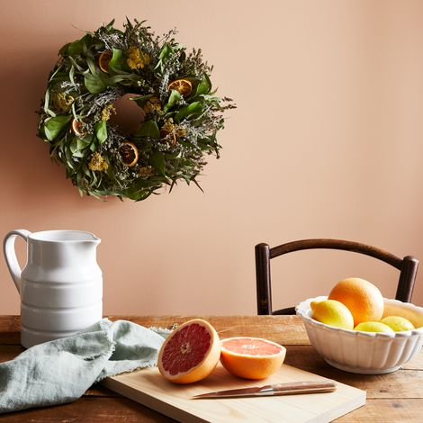 Lemon Citrus Eucalyptus Wreath