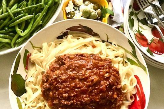 Amazing Bolognese sauce