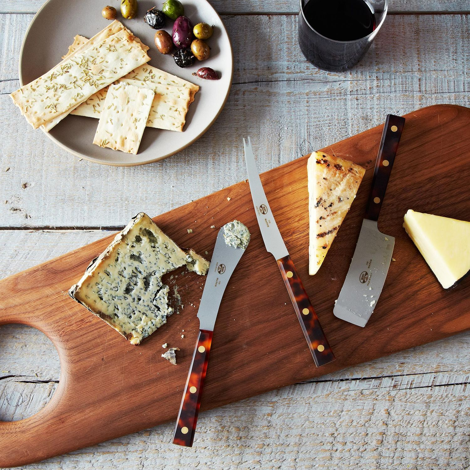 Berti Cheese Knives Set Of 3 On Food52