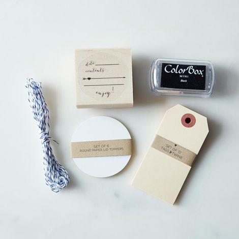 Custom Jar Label Kit