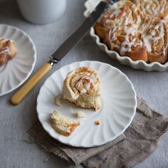 Cardamom Lemon Sticky Buns