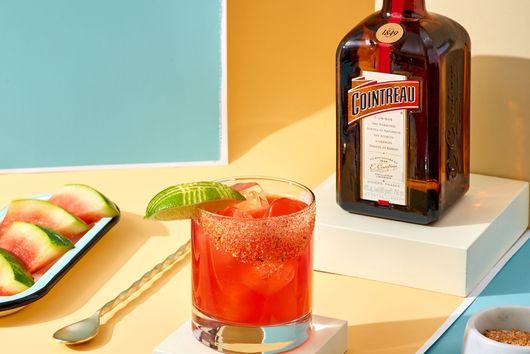 The Grilled Watermelon Margarita From Cointreau