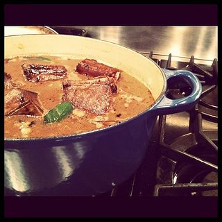The short ribs, the night before