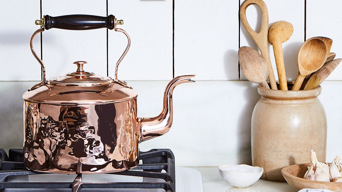 How To Decorate With Copper Cookware Copper In The Kitchen