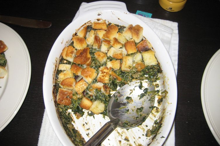 Herbed Spinach Panzanella