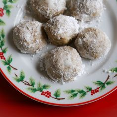 Grain-Free Russian Tea Cakes