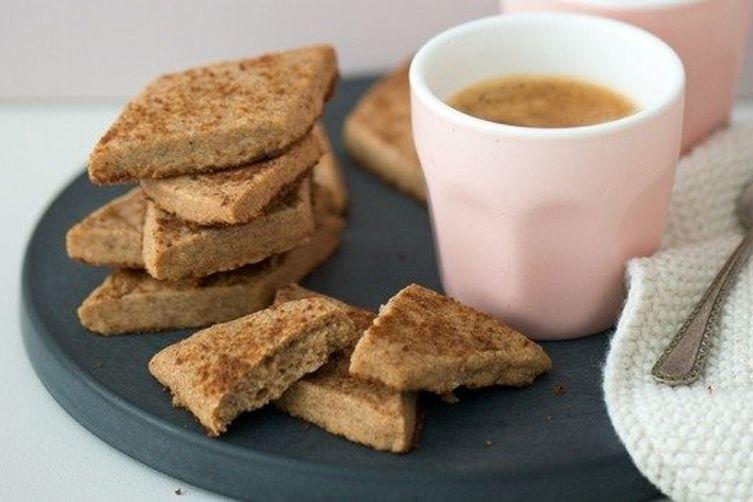 Spiced Diamond Cookies