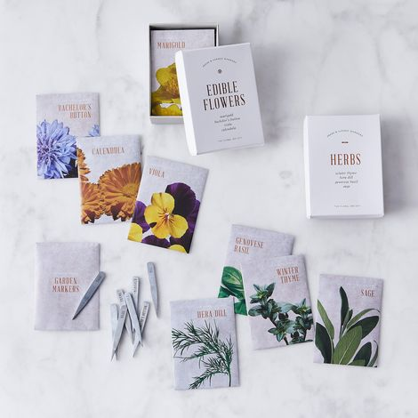 Herb & Edible Flower Seed Gift Boxes