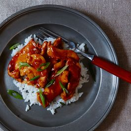 Ae26b194 999a 4d66 9472 c9af802e5ffa  spicy orange ginger chicken 1136 food52 mark weinberg