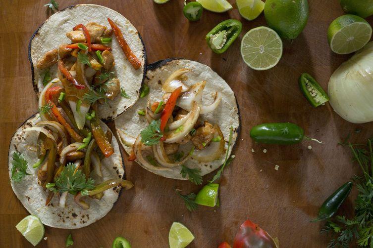 easy marinated chicken tacos