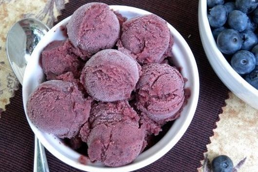 Blueberry Buttermilk Sorbet