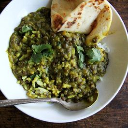 Curried lentils by Mary Little