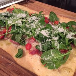 Prosciutto and Tomato Flatbread