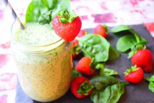 Spinach & Strawberry Smoothie
