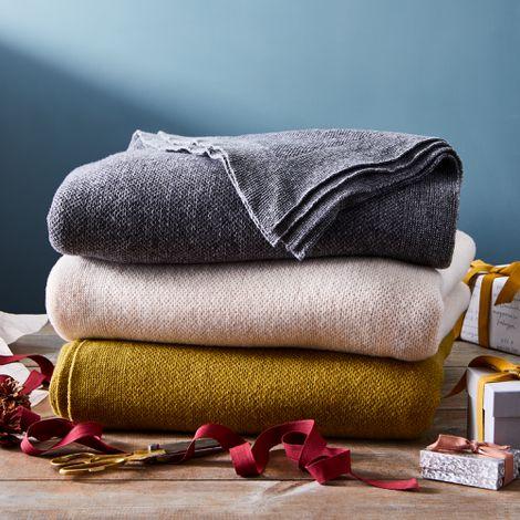 Oversize Wool Throw