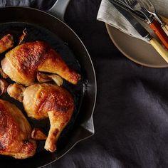 Dinner Tonight: Miso and Honey Butter-Roast Chicken