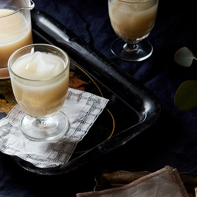 Rosemary Grapefruit Milk Punch