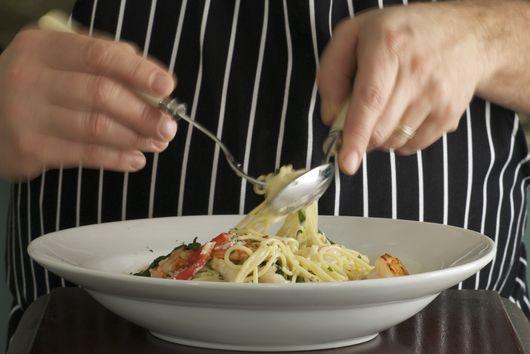 Seafood Spaghetti Florentine