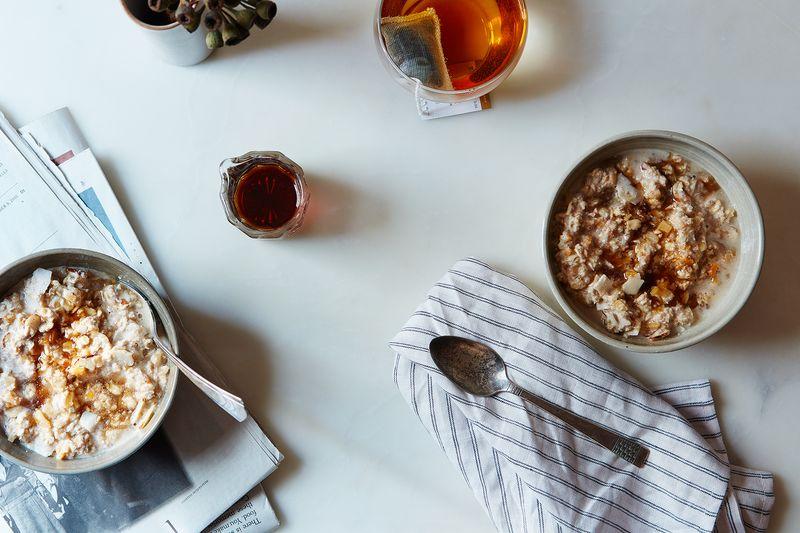 Creamy Vegan Bircher Muesli