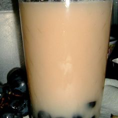 Grape Faux Bubble Tea