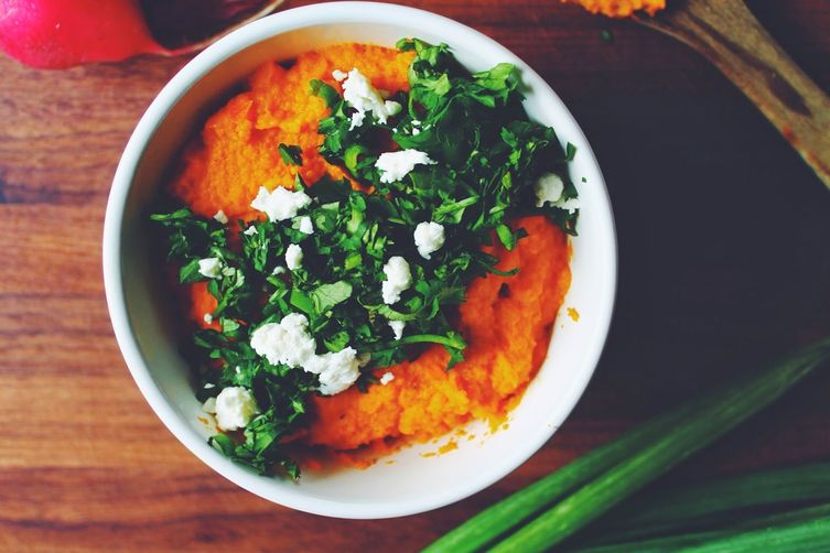 Smokey Carrot Hummus