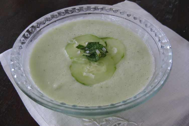 Cucumber Honeydew Soup