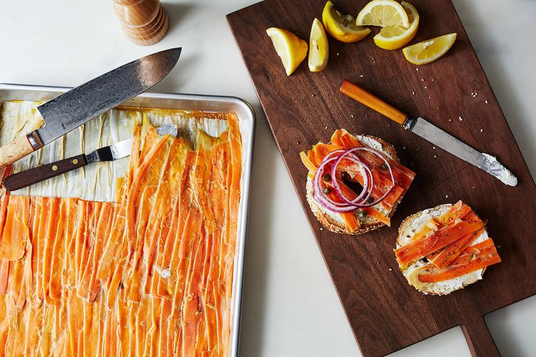smoked carrot lox recipe on food52
