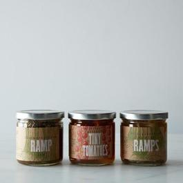 Ramp Jam, Pickled Ramps & Tiny Tomatoes Set