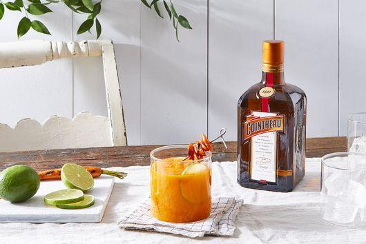 Grilled Carrot Margarita