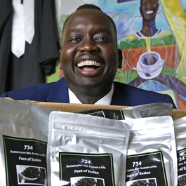He Was Displaced By Civil War. Now, He Runs a Coffee Company.