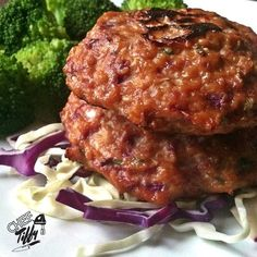 Ginger Cabbage Salmon Cakes