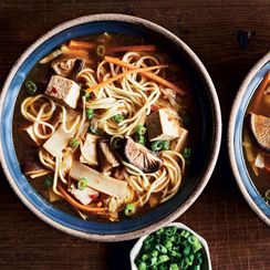 Slow-Cooker Shiitake-Noodle Hot & Sour Soup
