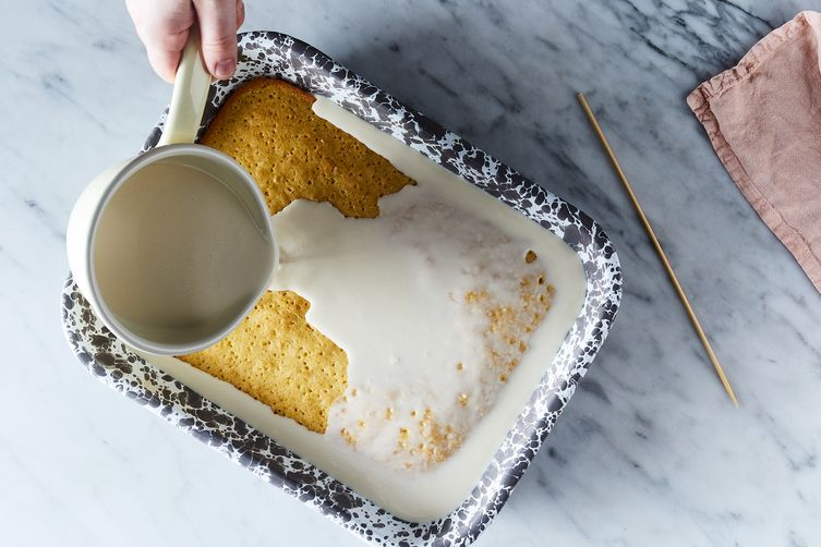 Tangy Tres Leches Cake