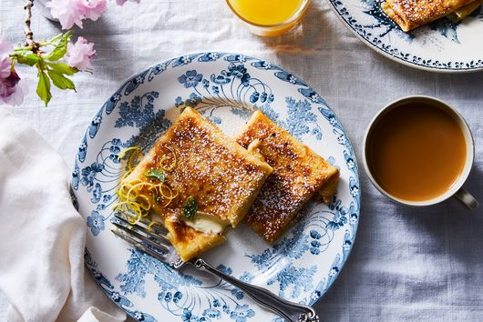 Light, Lemony Blintzes to Lure You From Your Slumber