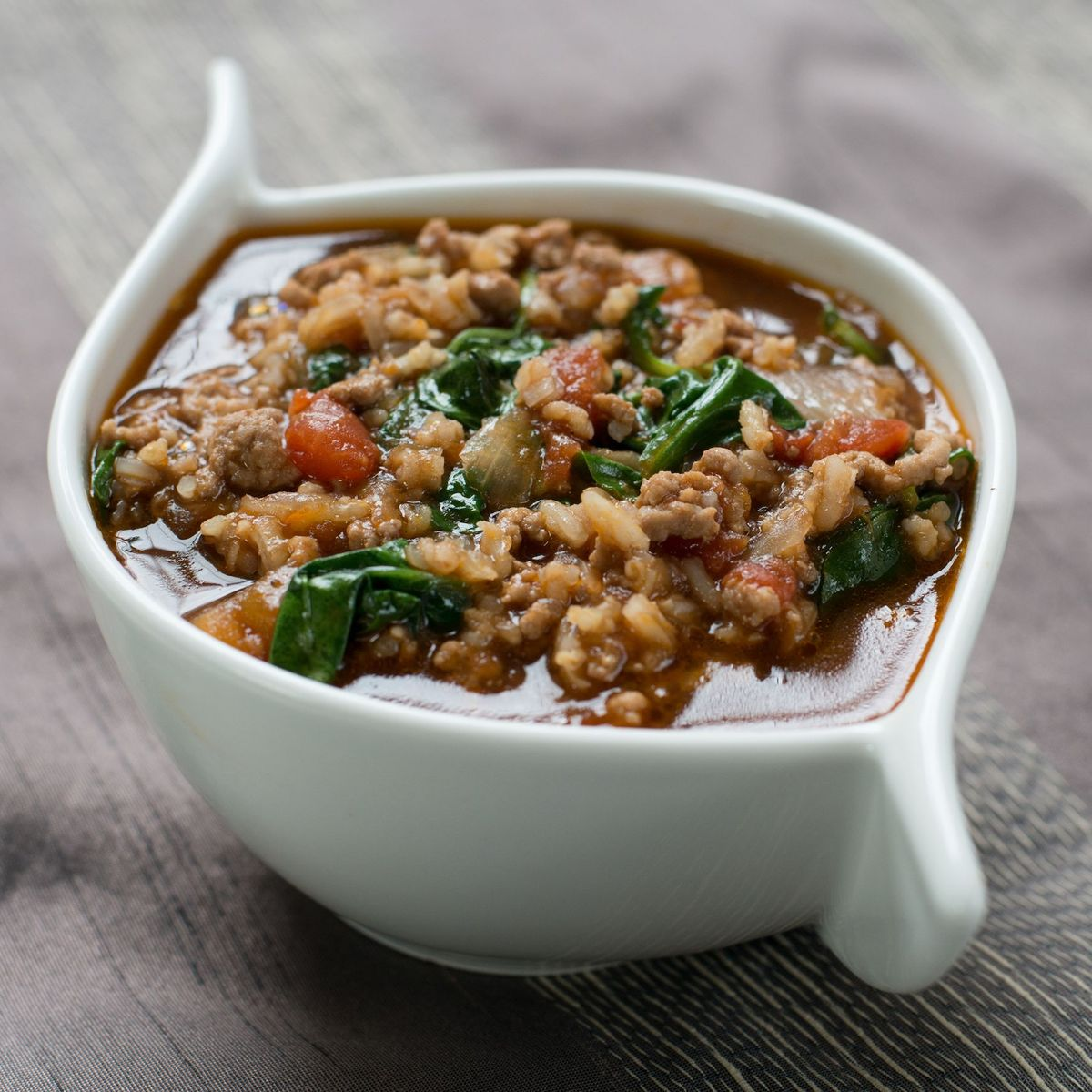 Spinach Tomato Lamb And Rice Broth Recipe On Food52